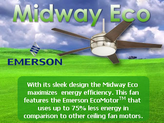 Midway Eco Ceiling Fan