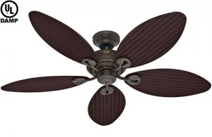 damp outdoor ceiling fan